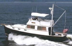 Downeast lobster boat