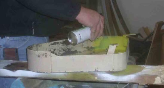 applying primer