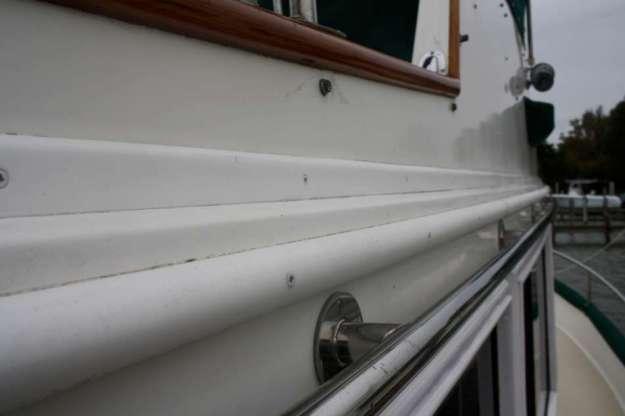 Replacing Grand Banks flybridge trim