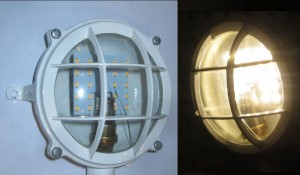 Grand Banks LED bulbs for engine room lights upgrade product