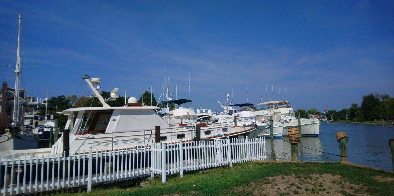Grand Banks Rendezvous At Oxford Yacht Agency Marina
