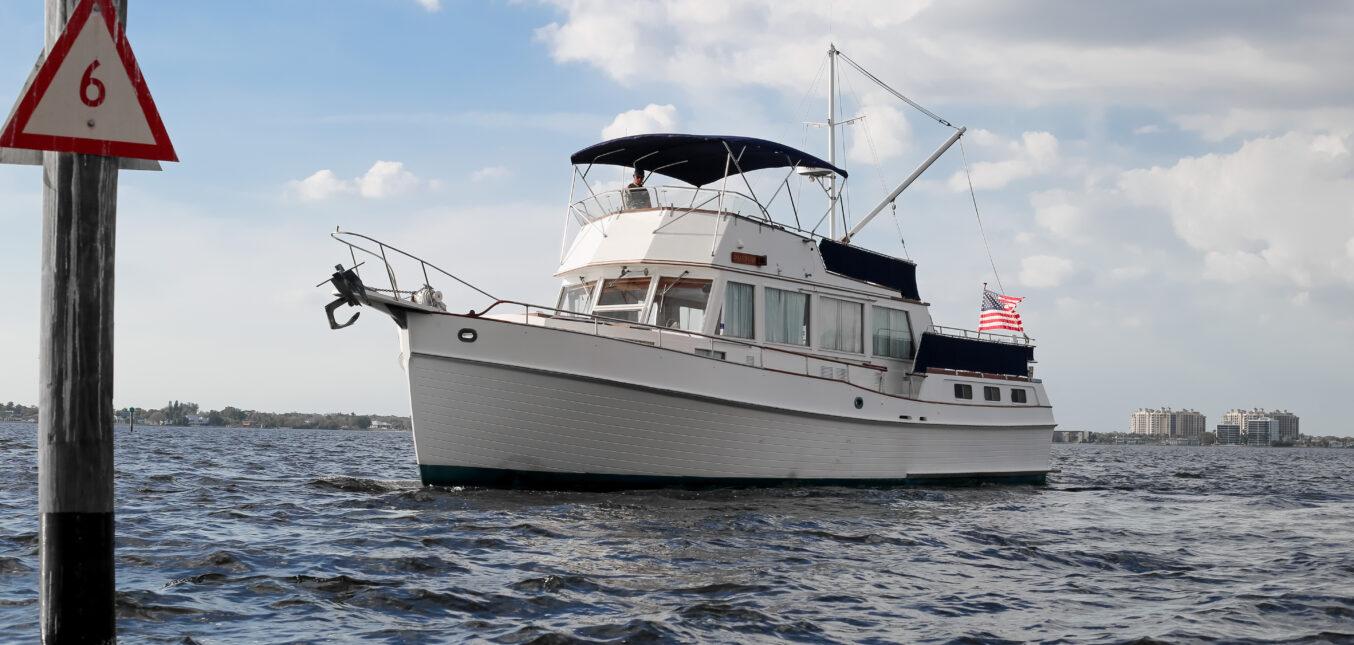 Grand Banks 49 Motor Yacht Maintenance Reduction